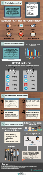 The What, Who, Why and How of Digital Marketing [INFOGRAPHIC}