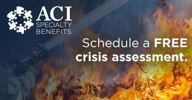 ACI Specialty Benefits Social Advertisement Graphic