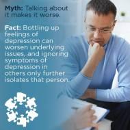 Depression Awareness Month social graphic