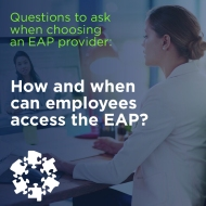 EAP provider question social graphic