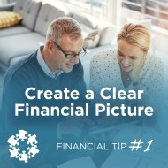 Social media graphic for Financial Wellness campaign